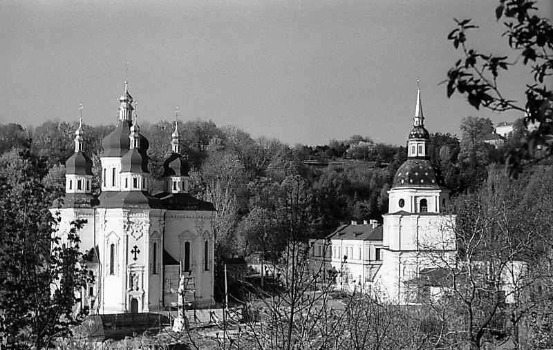 1978 р. Георгіївський собор і дзвіниця. Вигляд з півночі