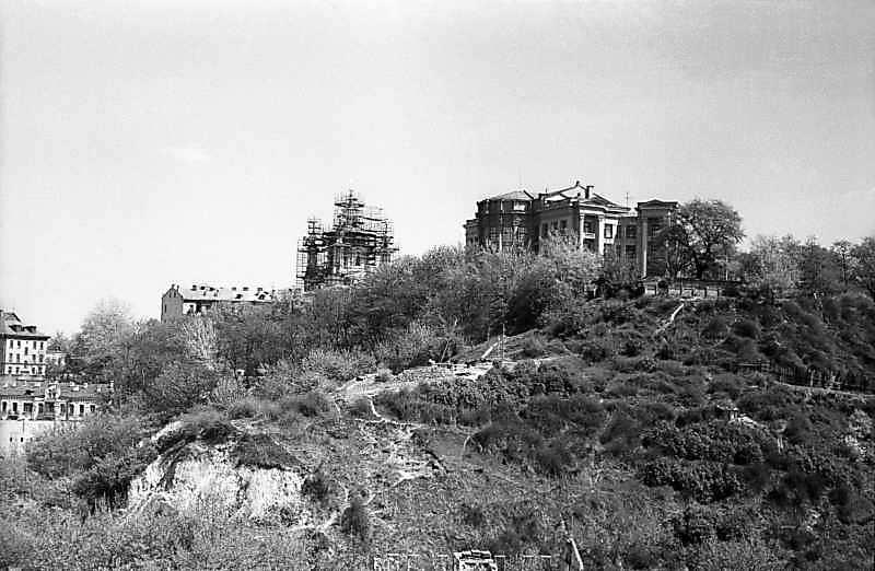 1978 р. Загальний вигляд Старокиївської гори з північного заходу