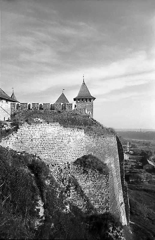 1978 р. Південно-східний ріг замку.…