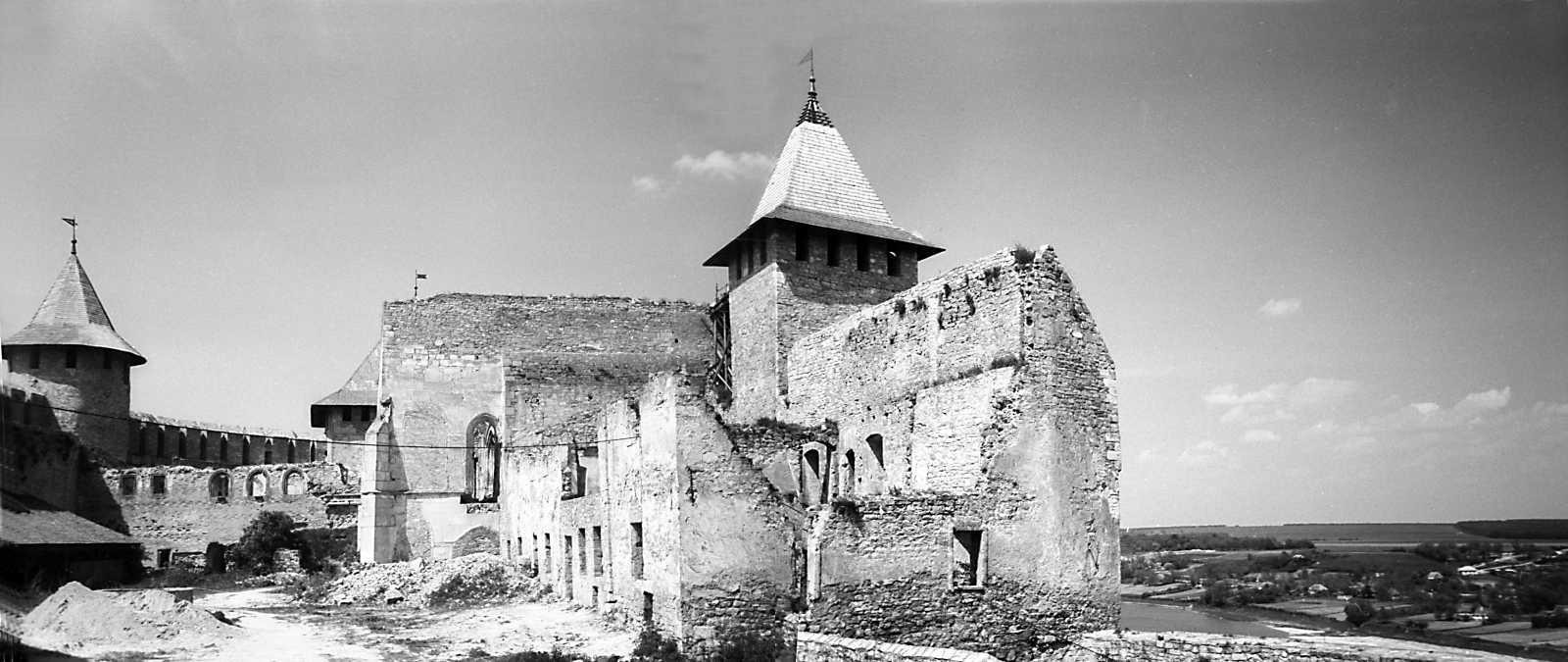 1978 р. Панорама двора з півдня