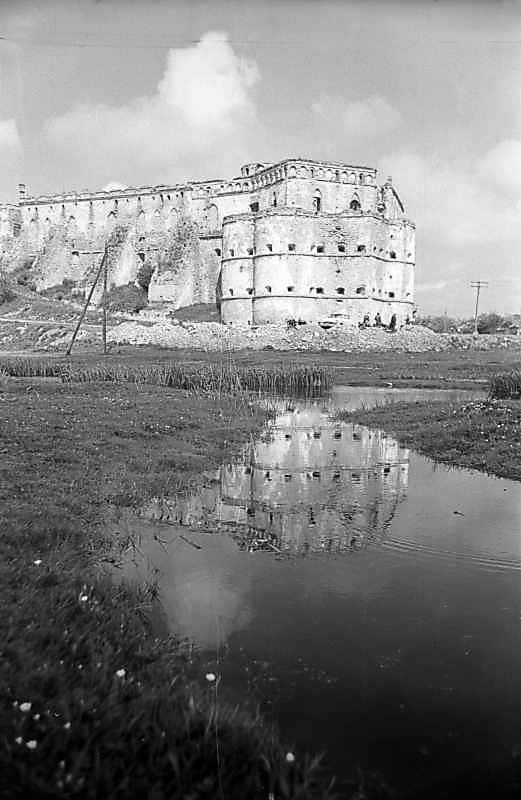1978 р. Палац і східна башта. Вигляд з південного сходу