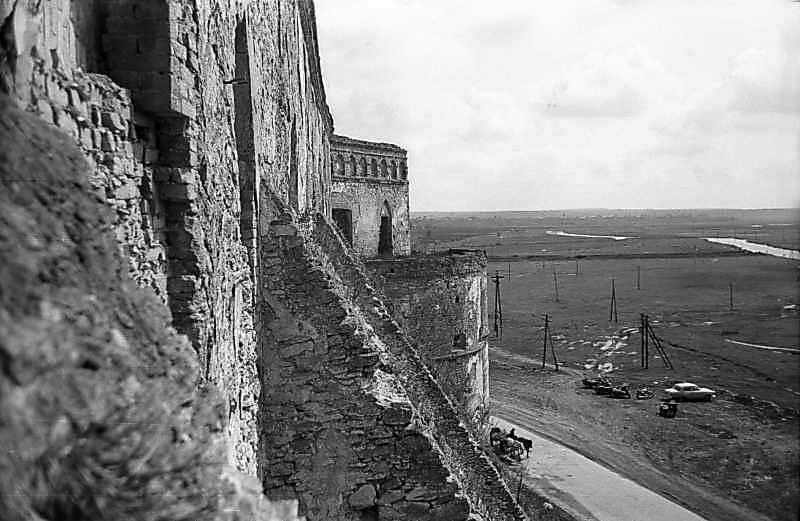1978 р. Вид з вікна палацу на схід