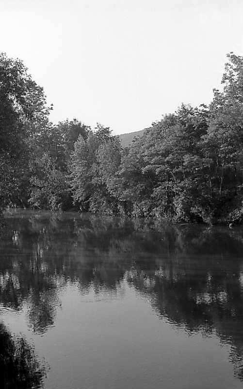 1978 р. Вид ріки Збруч біля замку (вигляд з півночі)