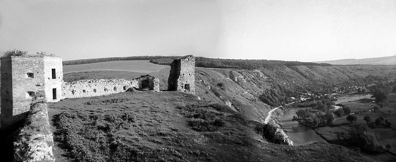 1978 р. Панорама подвір'я з південного…