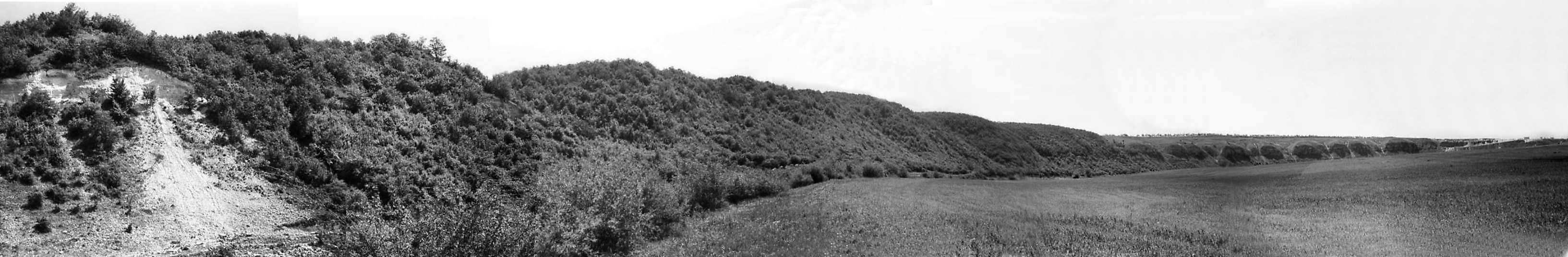 1978 р. Панорама луки Збруча