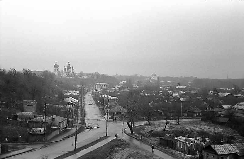 1978 р. Панорама Єлецького монастиря і Дитинця з Болдиних гір