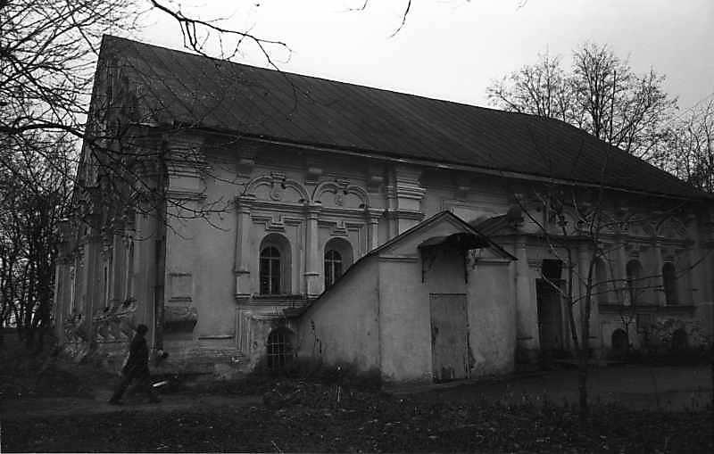 1978 р. Головний фасад. Вигляд з півночі