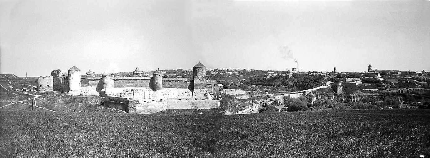 1979 р. Панорама Старого замку та Старого міста з півдня