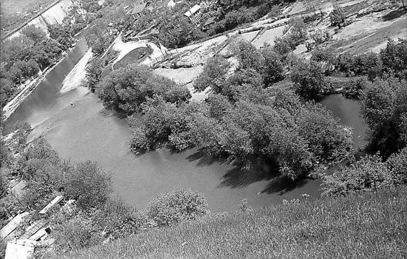 1979 р. Вид на Смотрич на південь від замку