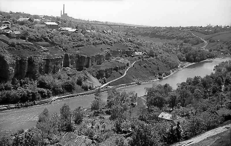 1979 р. Вид на Смотрич на південь від…