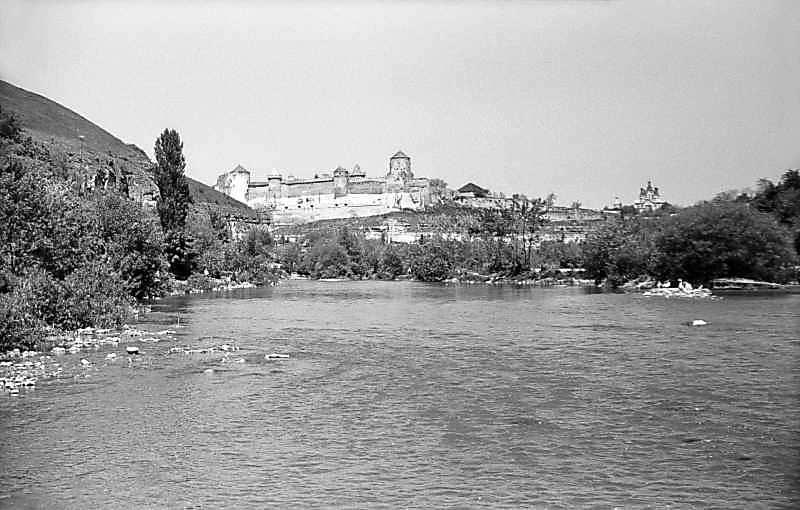 1979 р. Старий замок, Карвасари та Польські фільварки. Вигляд з півдня