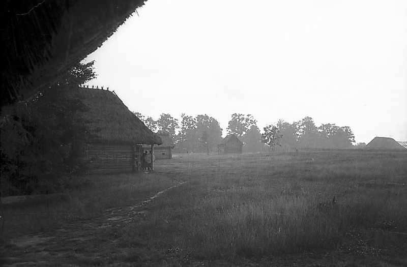 """1979 р. Вид на зону """"Полісся"""" від окружного двору 21"""