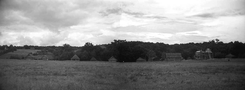 1979 р. Панорама з півдня: окружний…