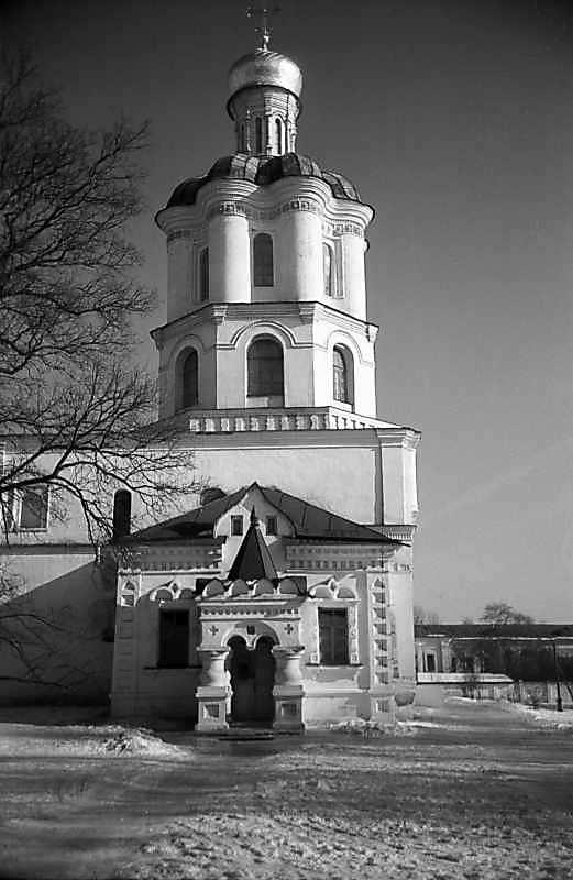 1980 р. Дзвіниця. Вигляд із заходу