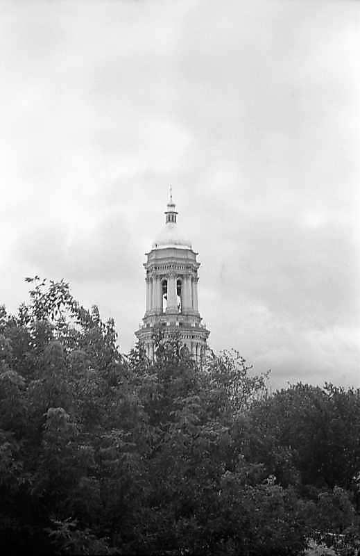 1980 р. Верхні яруси. Вигляд з північного сходу