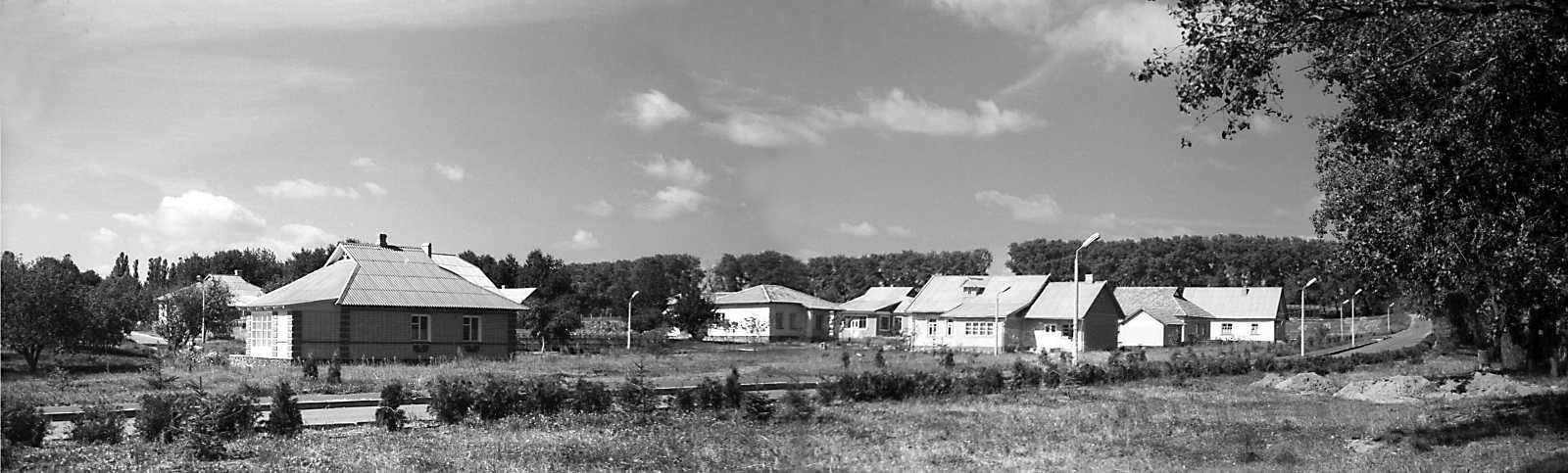 1980 р. Панорама з північного сходу