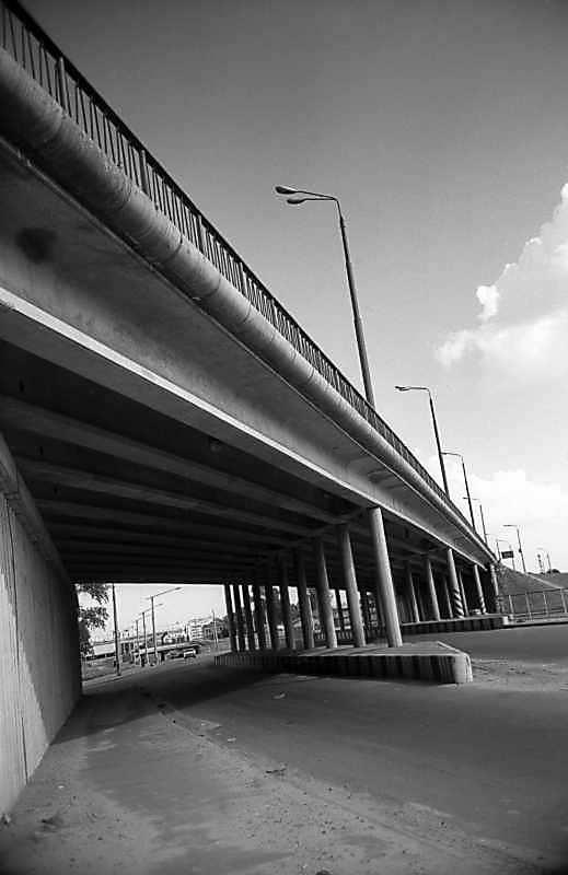 1980 р. Фрагмент шляхопроводу…