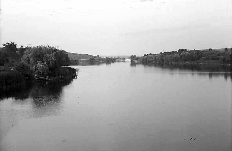 1981 р. Вид на став біля Кіровограда