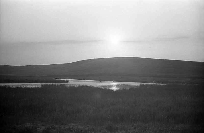 1982 р. Вид на гору і став у Ходосівці