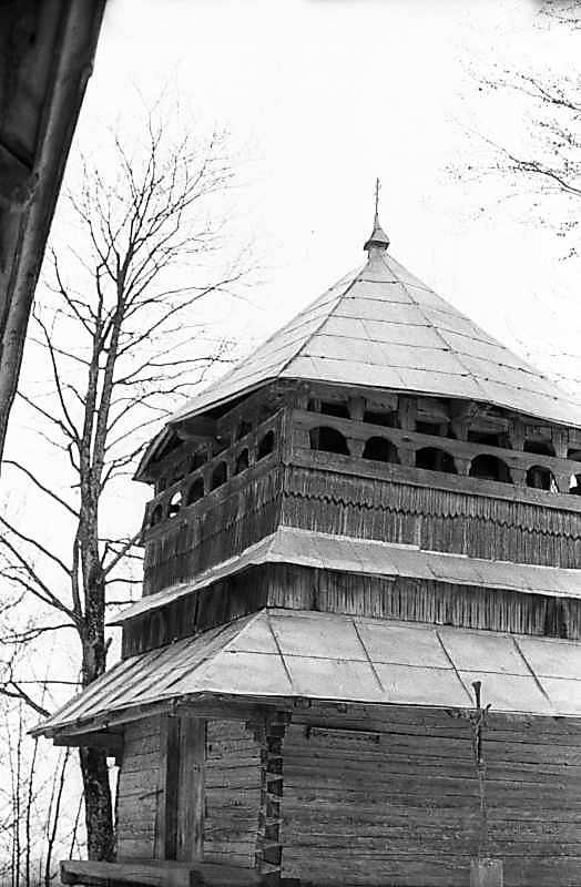 1983 р. Дзвіниця. Загальний вигляд з північного сходу