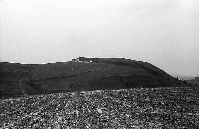 1983 р. Вид на гору в Ходосівці