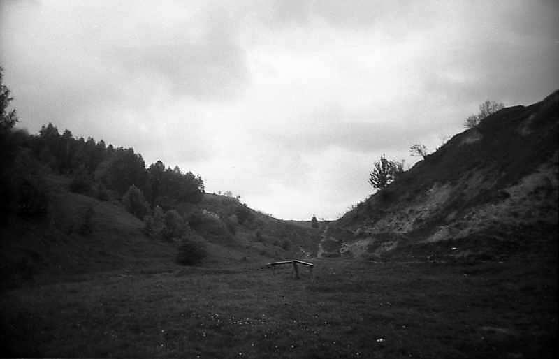 1983 р. Краєвид яра біля Ходосівки