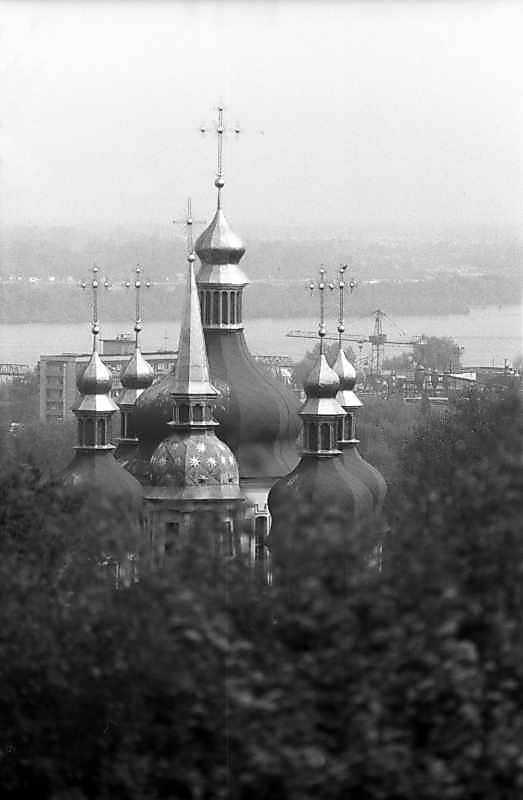 1983 р. Верхи Георгіївського собору і…