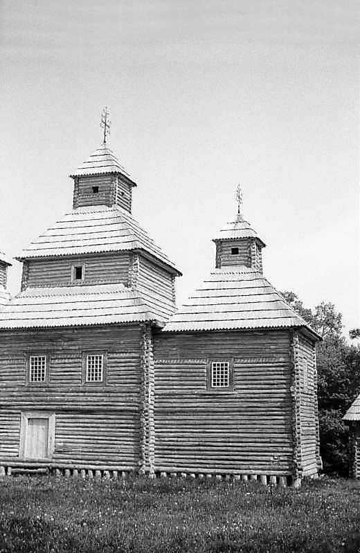 1983 р. Нава та вівтар. Вигляд з півдня