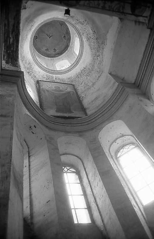 1983 р. Інтер'єр купола вівтаря