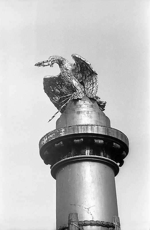 1983 р. Орел на горі колони
