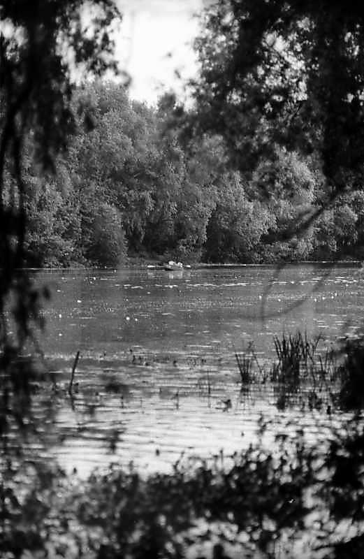 1983 р. Вид на ріку Псел