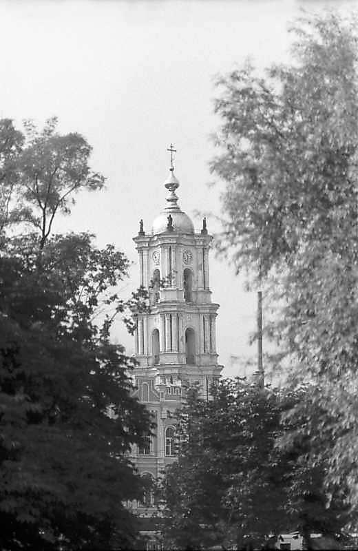 1983 р. Дзвіниця. Вигляд з північного заходу