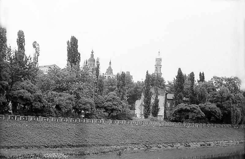 1983 р. Вид на історичний центр з північного заходу