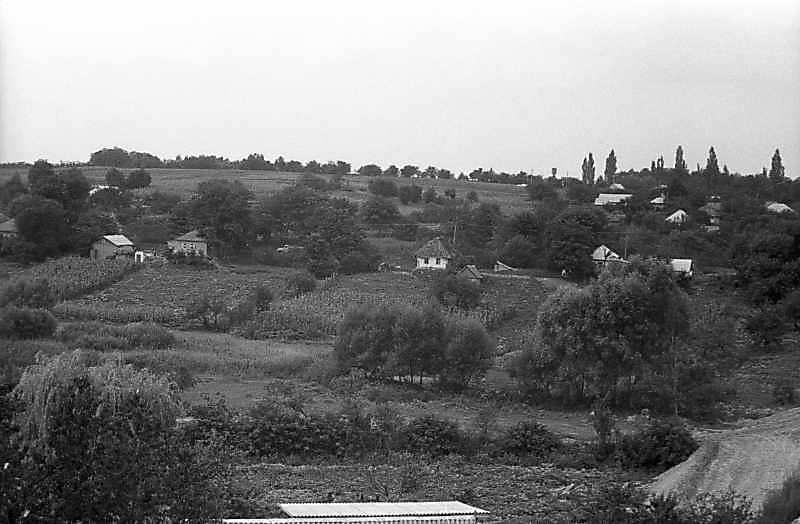 1983 р. Вид села біля Кіровограда