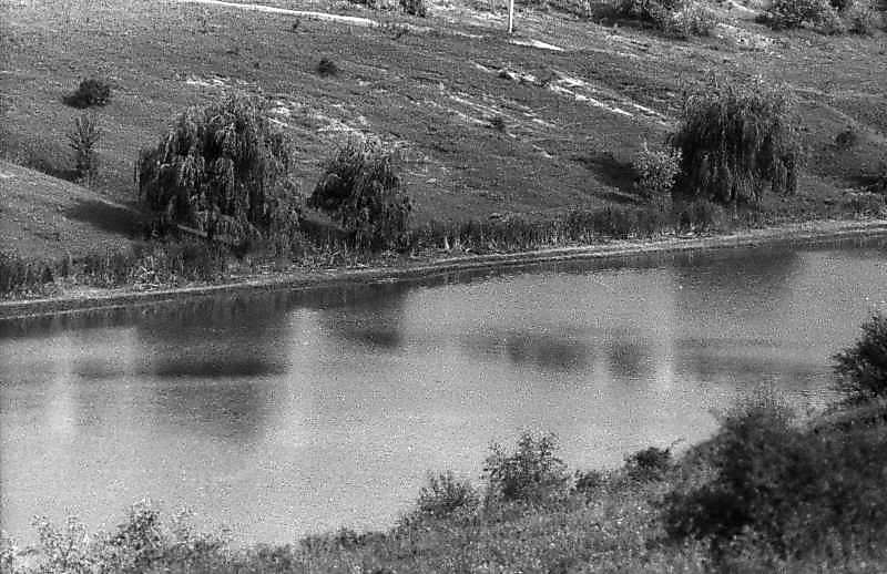 1983 р. Краєвид зі ставком біля…