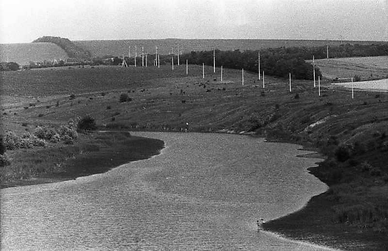 1983 р. Краєвид зі ставком біля Кіровограда