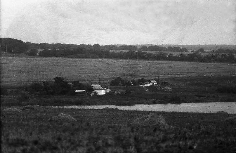 1983 р. Краєвид з хутором та ставком біля Кіровограда