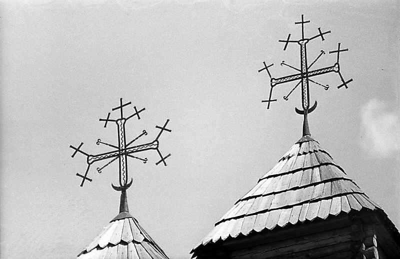 1983 р. Хрести над бабинцем і навою