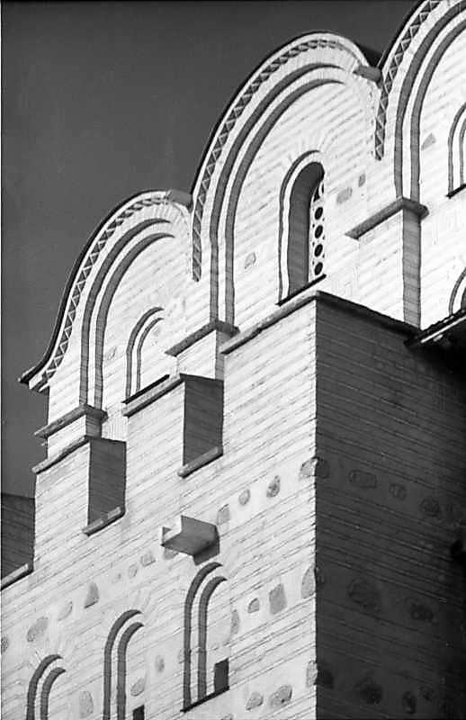 1984 р. Фрагмент верхнього ярусу південної стіни. Вигляд з південного сходу
