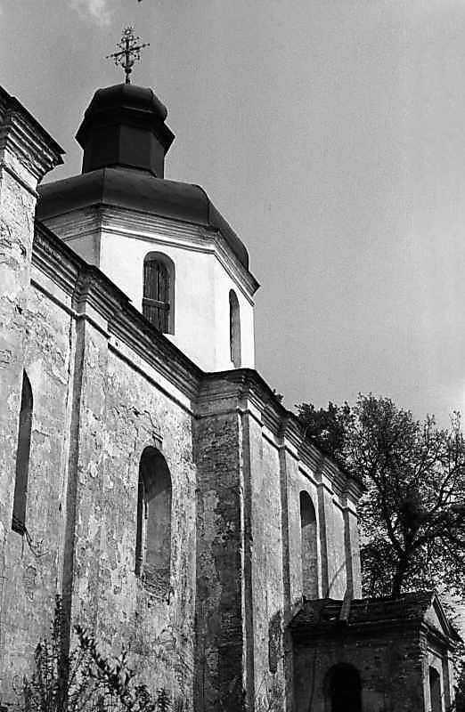 1984 р. Південний фасад. Вигляд із заходу