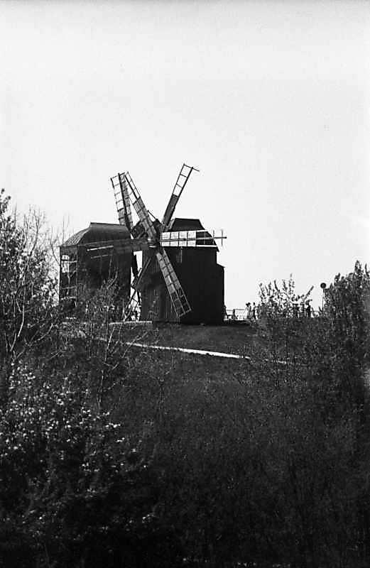 1984 р. Загальний вигляд вітряків 2 та 1