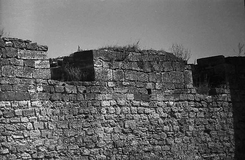 1984 р. Мур між баштами 7 і 6. Вигляд…