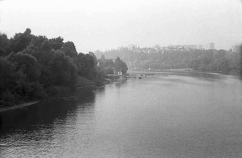 1984 р. Вид на ріку Бог