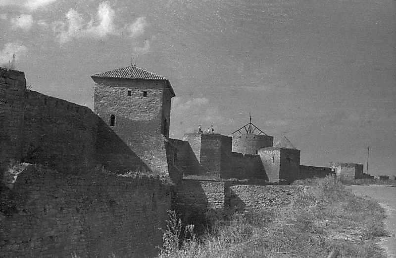 1984 р. Центральна частина східного фронту з баштами 1, 32, 27, 31, 30. Вигляд з південного…