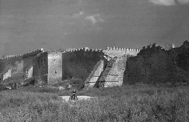 1984 р. Башта 18 та брама 17. Вигляд із заходу