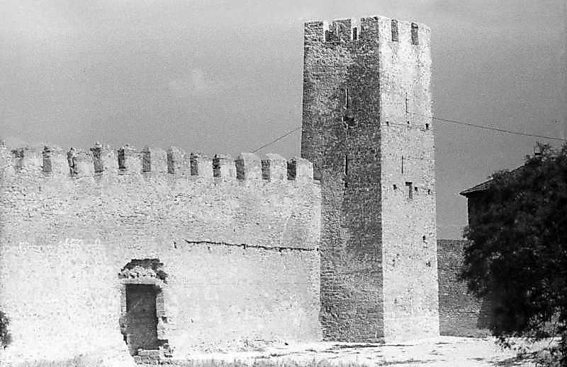 1984 р. Брама 22 та башта 23. Загальний вигляд з південного заходу