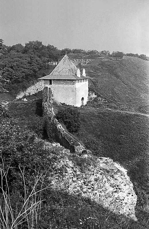 1985 р. Західний мур і Ясська брама. Вигляд з півдня