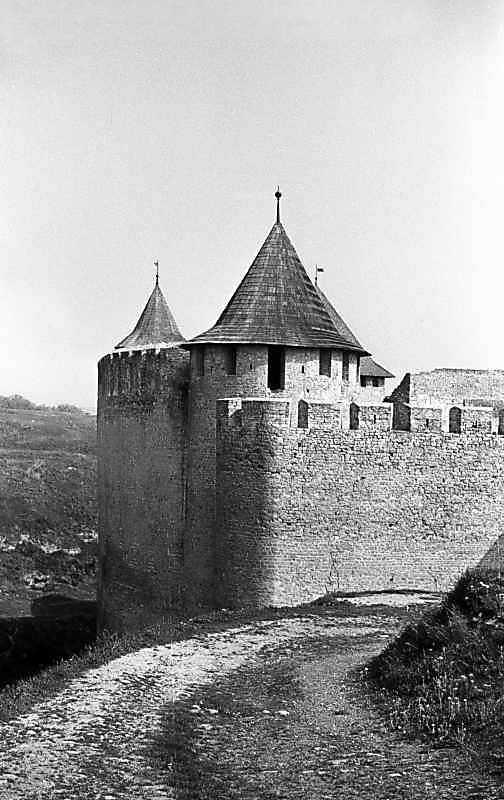 1985 р. Західний мур. Вигляд з півдня