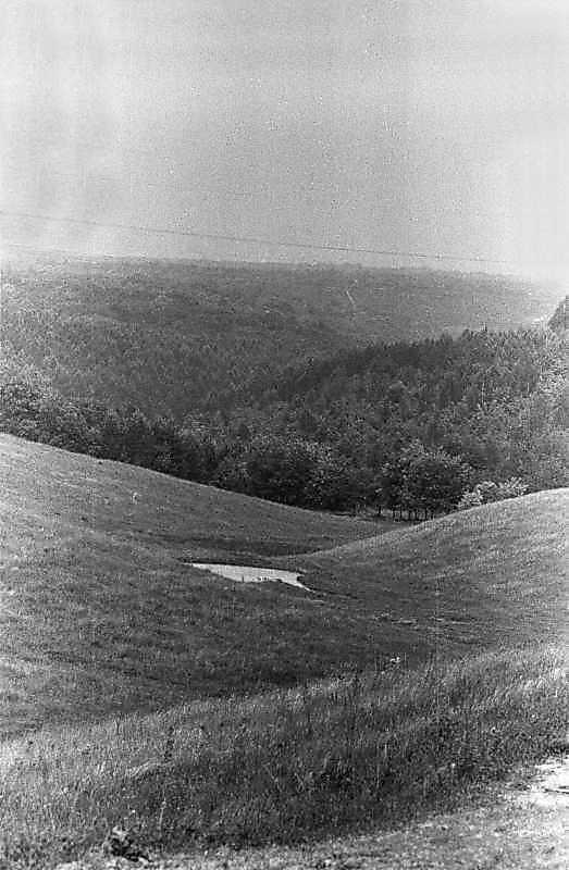 1985 р. Краєвид біля села