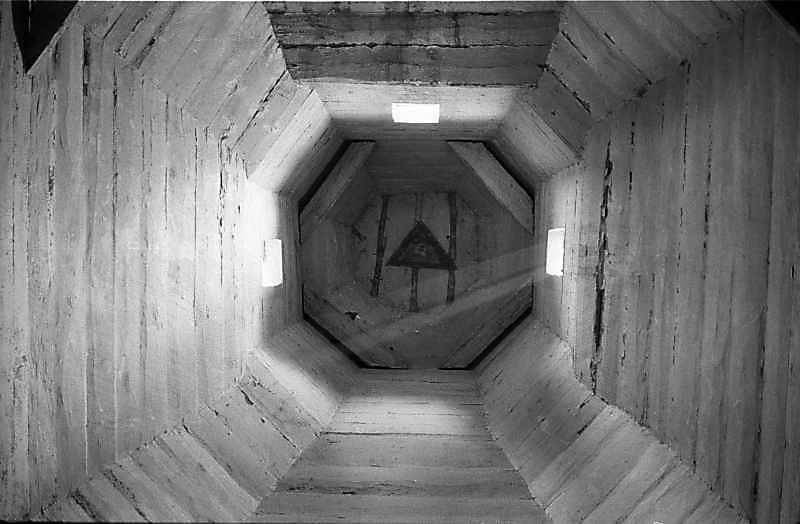 1985 р. Інтер'єр верху вівтаря